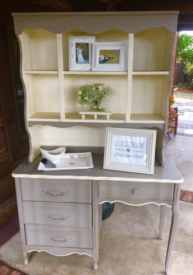 Vintage Hutch wedding rentals by Brave Horse Winery