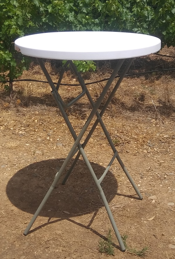 Bar Top Tables Wedding Rentals from Brave Horse Winery