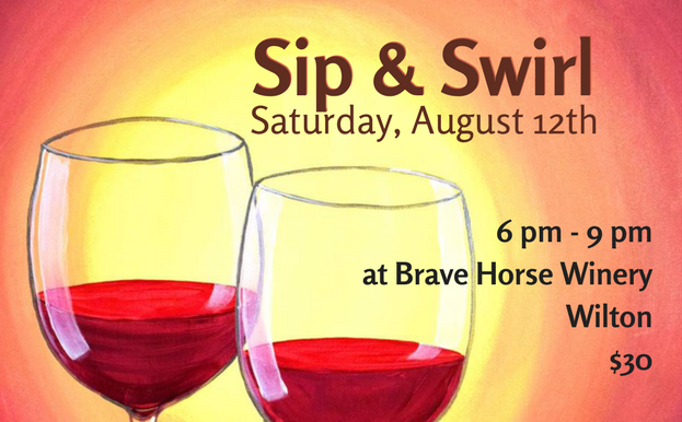 Sip & Swirl at Brave Horse
