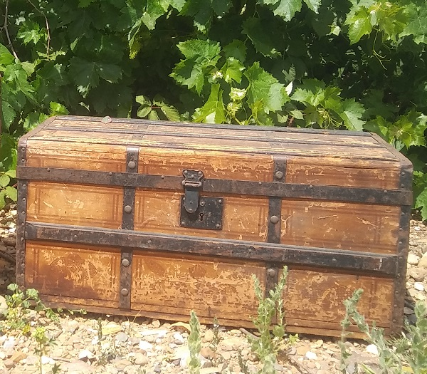 Wooden Chest rentals from Brave Horse Winery